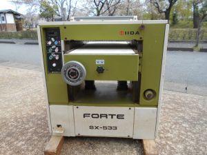 飯田工業 自動一面鉋盤 SX-533